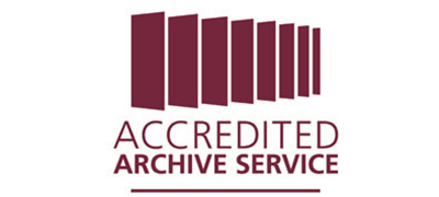 The Accredited Archive Service logo.