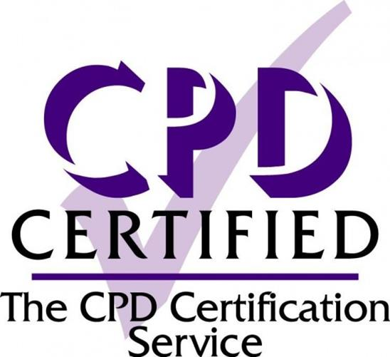 Image of a the CPD certification service accreditation badge