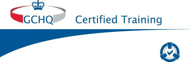 Image of GCHQ certified training logo